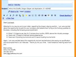 How To Email A Resume Sample Email Message With Attached Resume Thrifdecorblog Com