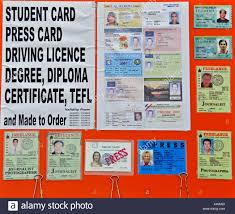 Alamy Photo On For Falsified - Stock Selling Id 16690265 Advertising Fake San Khao Documents