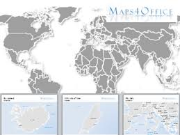 Powerpoint World World Map All Countries