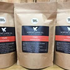 Dulce tells me that unlike other materials, ldpe coffee bags only need one layer to protect their contents, rather than several. New Biodegradable Packaging Norfolk Coffee Company