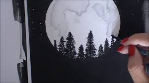 Dessiner La Lune Youtube