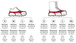 Microspikes Footwear Traction