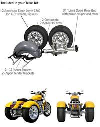 Trike Conversion Kits For Harley Davidson