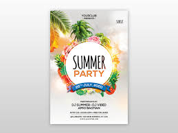 The Summer Party Psd Free Flyer Template By Pixelsdesign Net