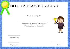 Employee Of The Month Certificate Templates Employee Of The Month Certificate Template By Hertzel 151644800006