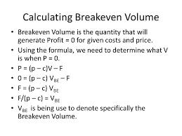 Cvp Analysis Cost Volume Profit Ppt Download