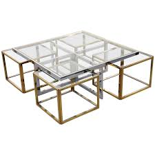 full size of chrome coffee table with four brass nesting tables teak coffee table with solid