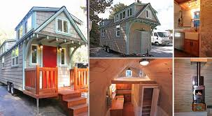 Small Picture Small Space Bungalow on Wheels Home Design Garden