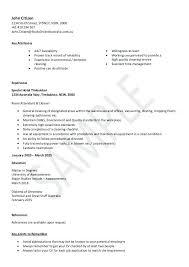 sample resume for cleaner cleaning resume sample john citizen