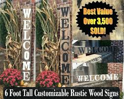 personalized outdoor welcome signs outdoor welcome signs outdoor welcome signs wooden welcome