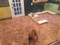 Brick Flooring In Kitchen October 2015 811 Southern