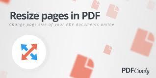 Resize PDF: resize PDF pages free online