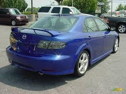 mazda 6 2004 black. 2004 mazda6 s sedan lapis blue metallic black photo 6 mazda