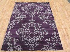 dark purple bathroom rugs