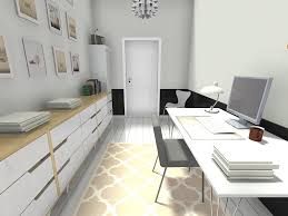 at home office ideas. RoomSketcher-Home-Office-Ideas-Storage-Wall At Home Office Ideas