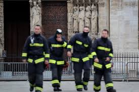 France holds daylong tribute to firefighters who battled Notre Dame ...