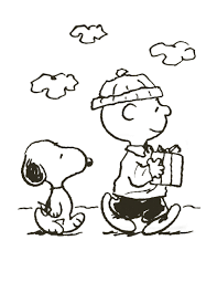 Charlie Brown Christmas Coloring Pages Free Coloring Kids #8301