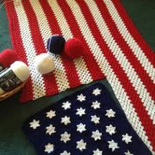 American Flag Crochet Pattern Simple Free Flag Crochet Patterns Crochet Projects Pinterest Free
