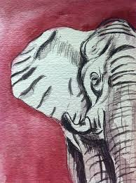 on alabama elephant wall art with alabama elephant painting by hae kim