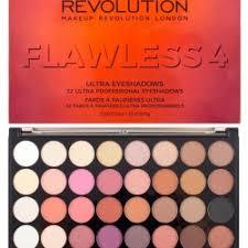makeup revolution ultra 32 eyeshadow palette flawless 4 paleta 32 cieni do powiek
