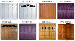 new garage doors types and styles