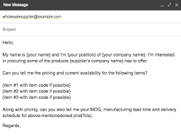 The Science Of Contacting Suppliers When Youre Starting A Business