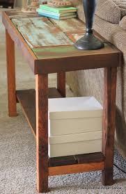 Diy Rustic Sofa Table Sofas Center Narrow Sofa Table Etsy Astounding Wood Photo