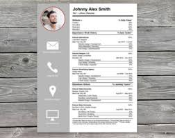 Photography Resume Template Creative And Original
