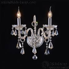 elegant interesting crystal glass transpa chandelier wall lights chandelier wall lamp plan