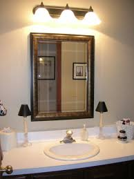 above mirror lighting bathrooms right bathroom vanity lighting tips to install for dazzling look updated bathroom above mirror bathroom lighting
