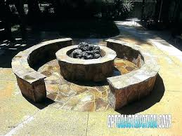 natural gas fire pit table burner diy in the ground lovely fresh ga