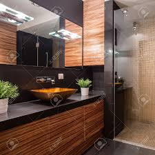 Fancy Shower New Modern Bathroom With Fancy Shower On The Wall Stock Photo 1824 by guidejewelry.us