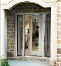 front door with one sidelightThermaTru Vented Sidelights  More Than a Sidelite with Hinges