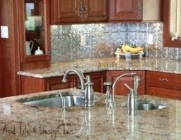 Granite Countertops And Backsplash Ideas Awesome Inspiration