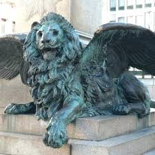 outdoor nittany lion statue large animal mold garden antique casting bronze outdoor lion statue