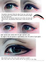 you cosplay forever nha yahaya tutorial make up tutorial anime eye