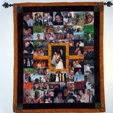 Custom Quilts | Personalized Quilts | CustomMade.com & Mosaic Photo Quilt 2 by Lewis Fuller Adamdwight.com