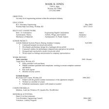 Resume For Undergraduate With No Experience Oneswordnet