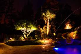 tropical outdoor lighting. Beautiful Low Voltage Landscape Lighting In Pool Tropical With Next To Alongside And Outdoor C