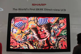 sharp 85 inch tv. 85-inch sharp 3d glasses-free 8k tv 85 inch tv s