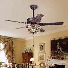 crystal chandelier ceiling fan. 5 Blade Crystal Light Ceiling Fan Chandelier