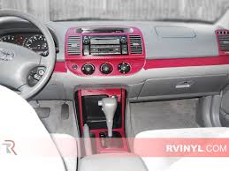 Toyota Camry 2002-2006 Dash Kits | DIY Dash Trim Kit
