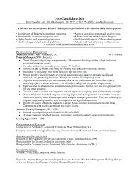 sample resume for apartment manager property valuer resume resident manager resume property manager