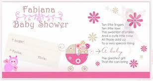Tarjetas Para Baby Shower De Ni A Tarjetas Para Baby Shower