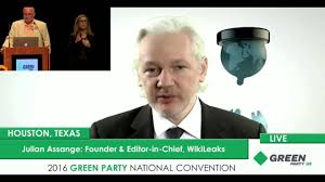 wiki leaks julian assange green party clinton extortion wiki leaks julian assange green party clinton extortion corporate control
