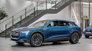 2018 audi electric car. beautiful electric audi etron quattro concept arrives at forum neckarsulm inside 2018 audi electric car