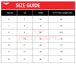 Footwear Size Chart India To Uk Buy Footwear Casuals Rts10943 Online Redtape