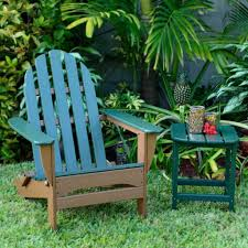 Small Outdoor Table Set Furniture 4 Teak Adirondack Chairs With Small Round Outdoor