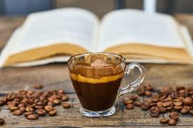You will find approximately 53 mg of caffeine in a shot of espresso, and find up to 175 mg of caffeine in a cup of drip coffee. How Does Coffee Wake You Up Modernist Potions
