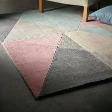pink and grey rug origins design matters blue rugs dunelm geometric